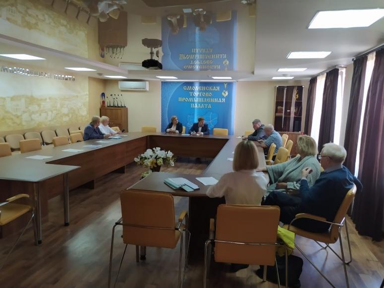 Участники Комитета Смоленской ТПП по текстильной и легкой промышленности обсудили сертификацию продукции